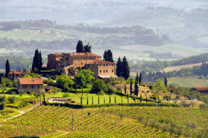 Photo of Italian countryside