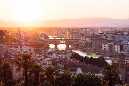 Student travel Australia to Italy